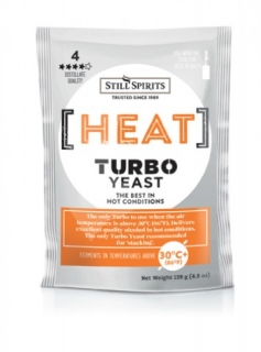 Heat Turbo Yeast Still Spirits