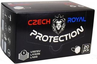 Czech Royal Protection respirátor FFP2 1 ks